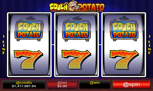Spend Quality Time with Couch Potato For Winning Jackpot